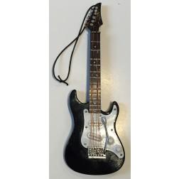 Black Electric Guitar Ornament