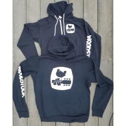 Woodstock Peace Patrol Zip Front Sweatshirt