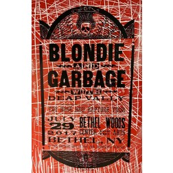 Blondie and Garbage- Collectible Hatch Show Print