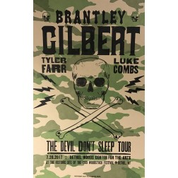 Brantley Gilbert- Collectible Hatch Show Print