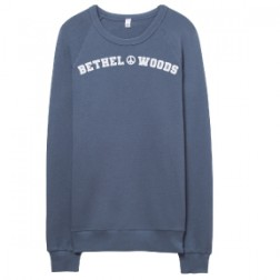 Bethel Woods French Terry Sweatshirt Washed Denim