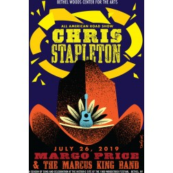 Chris Stapelton Concert Poster 2019