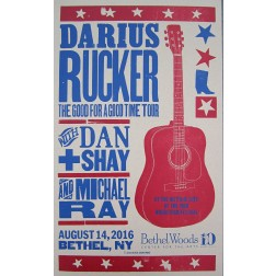 Darius Rucker - Collectible Hatch Show Print