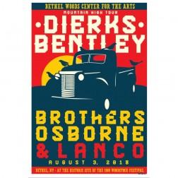 2018 Concert Posters-Dierks Bentley
