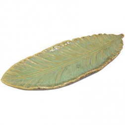 Tray - Fallen Leaf Ceramic Plate