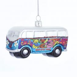 Ornament - Grateful Dead Glass Bus