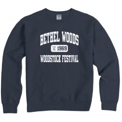 Sweatshirt, Crewneck - BW Garment Washed Varsity