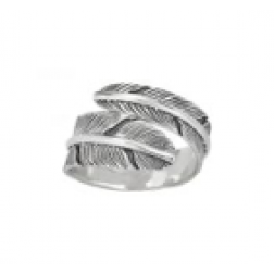 Ring - Feather Band Sterling Silver