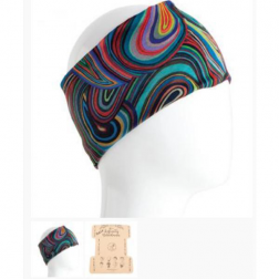 Boho Bandeau - Colorful Swirls