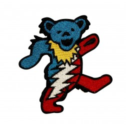 Grateful Dead Dancing Bear Patch