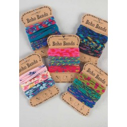 Boho Hair Bands Multi Color