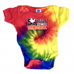 Woodstock 50th Tie Dye Onesie