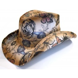 Butterfly Cowboy hat