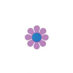 STI-Purple Daisy Window Sticker