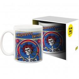 Mug: Grateful Dead Skeletons and Roses in Box