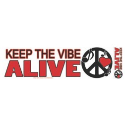Keep Vibe Alive Sticker