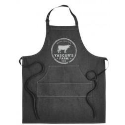 Apron: Yasgur's Farm Artisan Indigo Denim Chef's Apron