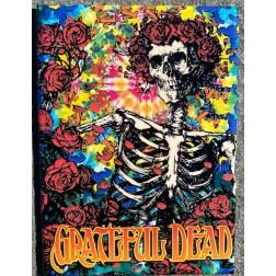 Magnets: Grateful Dead Skeletons and Roses