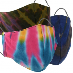 Face Mask - Assorted Tie Dye