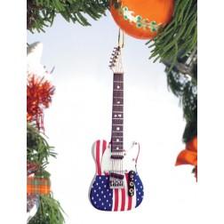 Ornament - USA Guitar Ornament