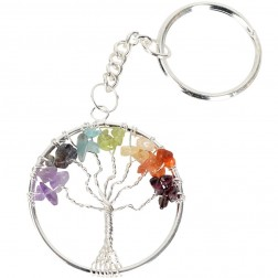 Keychain-Tree of Life Chakra