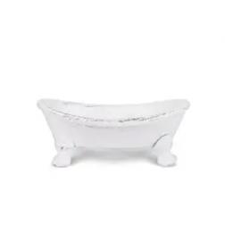 Soap Dish - Iron Clawfoot Bath Tub Soap Dish