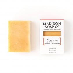Soap - Sunshine Tumeric + Lemongrass Organic Soap