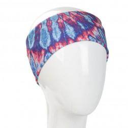 Boho Bandeau - Blue and Pink Tie Dye