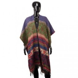 PONCHO-ONE SIZE WITH BUTTON