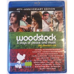 Woodstock 3 Days of Peace and Music Director's Cut Blu-ray DVD