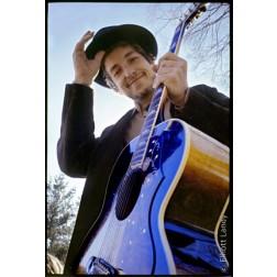 Bob Dylan Litho by Elliott Landy