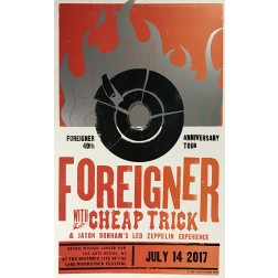 Foreigner - Collectible Hatch Show Print