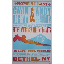 Gavin DeGraw - Collectible Hatch Show Print