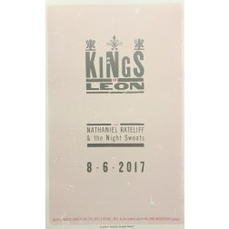 Kings of Leon- Collectible Hatch Show Print