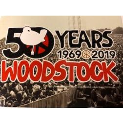 Woodstock 50th Anniversary Postcard