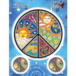 Sticker-Dan Morris Celestial Peace Multi Pack