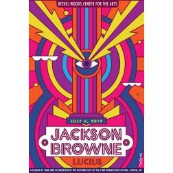Jackson Browne Concert Poster 2019