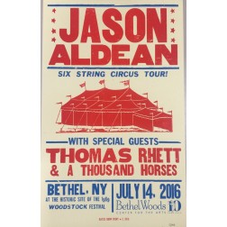 Jason Aldean - Collectible Hatch Show Print