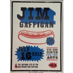 Jim Gaffigan - Collectible Hatch Show Print