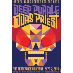 2018 Concert Posters-Deep Purple & Judas Priest