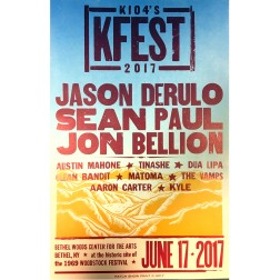KFEST 2017 - Collectible Hatch Show Print