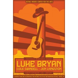 Luke Bryan Concert Poster 2019