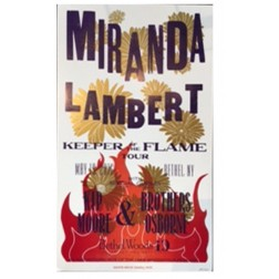 Miranda Lambert - Collectible Hatch Show Print