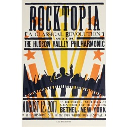 Rocktopia- Collectible Hatch Show Print