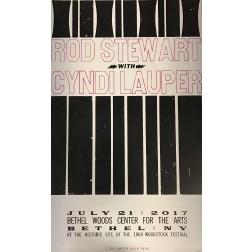 Rod Stewart - Collectible Hatch Show Print