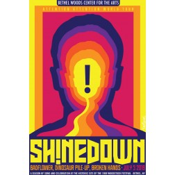 Shinedown Concert Poster 2019