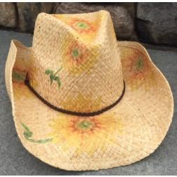 Sunflower Cowboy Hat