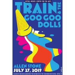 Train and Goo Goo Dolls Concert Poster