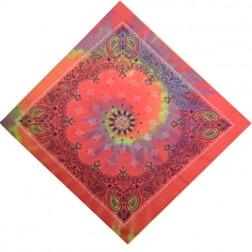 BANDANA-Paisley Printed Tie Dye