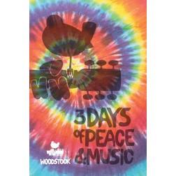 Woodstock Tie Dye Journal
